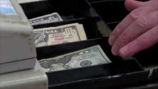 Download Teenager printing counterfeit money used a basic color printer Video