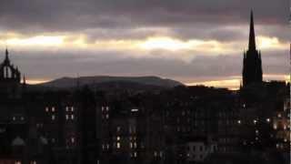 Download A Walk Around Edinburgh, Scotland - 27th November, 2012 Video