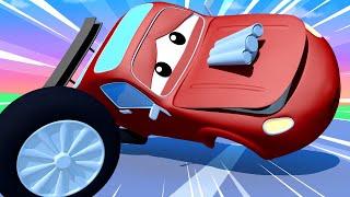 Download Эвакуатор Том - Джерри вылетел с трассы! - Автомобильный Город 🚗 детский мультфильм Video
