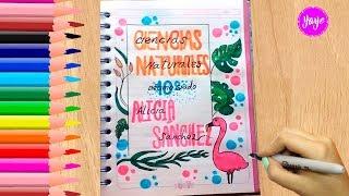 Download IDEAS PARA MARCAR CUADERNOS - Regreso a clases - Cómo marcar cuaderno de C. Naturales - Yaye Video