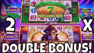 Download DOUBLE BONUS TWICE on WONDER 4 TALL FORTUNES! Video