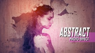 Download Making Abstract Portrait Photo Effect In Photoshop CC Video