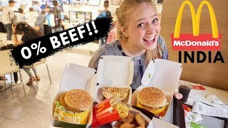 Download 0% BEEF?! What McDonalds in India is Like Video