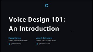 Download Voice Design 101 An Introduction Video
