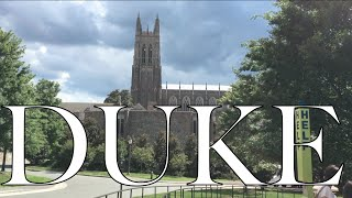 Download VISITING DUKE- Campus Tour and University Review- Applying to Colleges #4 Video