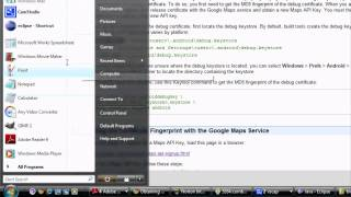 Download Android Tutorial & Lessons 31: Google maps / debug api key / get rid of gray tiles Video