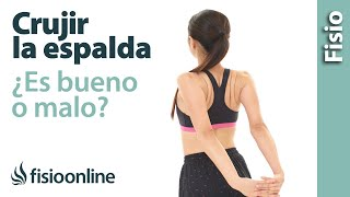 Download 😱😱¿Qué sucede cuando cruje o truena la espalda? ¿ES BUENO O MALO?😱😱 Video