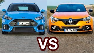 Download 2018 Renault Megane RS VS 2018 Ford Focus RS Video