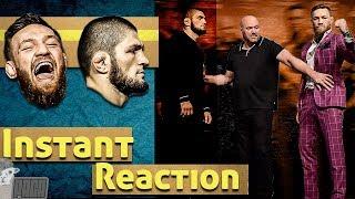 Download UFC 229 Khabib vs. McGregor Presser Reaction [Alpaca] Video