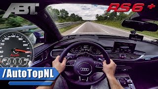 Download Audi RS6+ ABT 705HP AUTOBAHN POV ACCELERATION by AutoTopNL Video