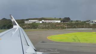 Download Air New Zealand A320 ✈ Stormy Weather Wellington to Auckland NZ446 Video