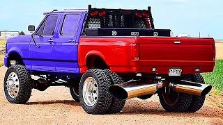 Download BIGGEST and POWERFUL TRUCKS (Loud Exhaust) | ROLLING COAL Video