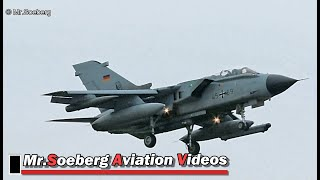 Download ALL AFTERNOON arrivals, TORNADO's +TYPHOON's at Nörvenich Video