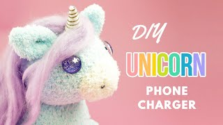 Download DIY Unicorn Phone Charger | DIY Unicorn Sock Plush | DIY Phone Charger Plush Video