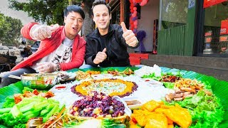 Download UNSEEN STREET FOOD in China | BEST Street Food in the WORLD + BBQ Pork & SPICY Noodles Video