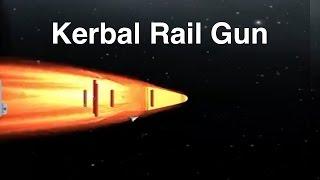 Download Kerbal Railgun - Interplanetary Bombardment Video