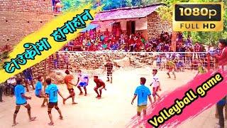 Download छातीमा ताक्दै हान्दै, खतरनाक पुरुष भलीबल ग्याम ,Volleyball game at baglung nepal 2074 RP PRODUCTION Video