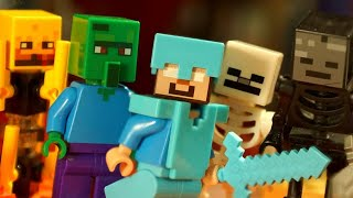 Download НУБ против Крипера Мультфильм Майнкрафт Все Серии Подряд Лего Лаки Блоки Троллинг Minecraft Video