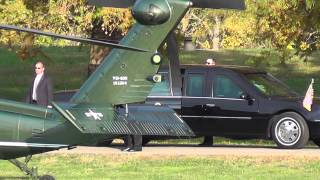 Download Obama landing in helicopter at Ohio University. Video