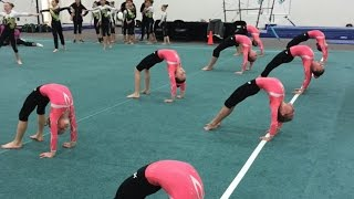 Download The Start of Competition Season | Level 7 Coral Girl Makes National Meet | Gymscool Video