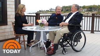 Download Watch Jenna Bush Hager And George W. Bush Talk Family With George H.W. Bush | TODAY Video