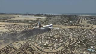 Download PIA 737-800 Crash at Dubai Video