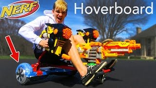 Download HOVERBOARD NERF GUN!! (TRIPLE THREAT!) Video