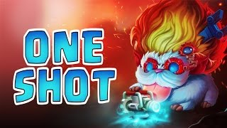 Download Nightblue3 - THE BEST HEIMERDINGER ONE SHOTS Video