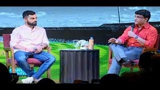 Download Exclusive: Virat Kohli & Sourav Ganguly At Boria's Book Launch | Sports Tak Video