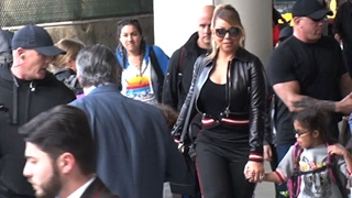 Download Mariah Carey Takes A Trip With Bryan Tanaka And Kids Video
