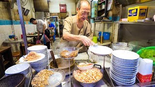 Download Ancient Thai Street Food - 90-Year Old Restaurant FISH RICE SOUP in Bangkok, Thailand! Video