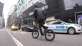 Download DailyCruise 5: Security and Snow (NYC BMX) Video