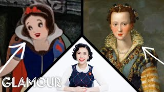 Download Fashion Expert Fact Checks Snow White's Costumes | Glamour Video