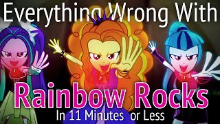 Download (Parody) Everything Wrong With Rainbow Rocks in 11 Minutes or Less Video