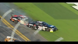 Download NASCAR Unlimited/ARCA Crashes at Daytona 2/13/2016 (Live HD) Video