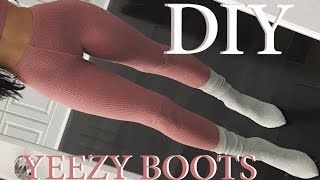 Download DIY | YEEZY INSPIRED SOCK BOOTS | Carli Bybel Video
