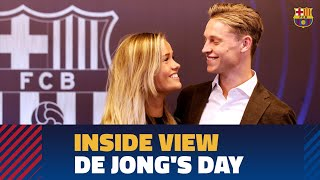 Download [BEHIND THE SCENES] Frenkie de Jong's presentation from the inside Video