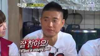 Download Running Man Moments. Funny Kang Gary Enduring Pain's Face HD Cut. [English Subs] Video