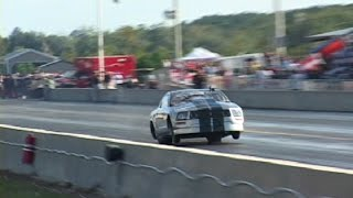 Download EVIL TWIN TURBO MUSTANG - 179 mph on BACK TIRES! Video