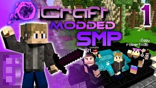 Download A NEW Modded Adventure!!! - iCraft MODDED SMP Episode 1 [1.10 Server Modpack] Video