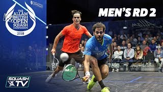 Download Squash: Allam British Open 2018 - Men's Rd 2 Roundup [Part 1] Video