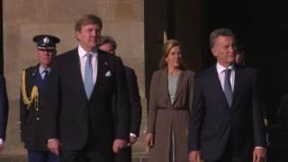 Download Officieel welkom op de Dam voor president Argentinië Video