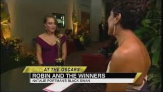 Download Natalie Portman, Melissa Leo Take Home Oscar Gold (02.28.11) Video