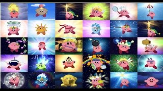 Download Todas las transformaciones y ataques de Kirby Video