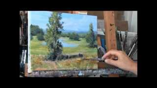 Download Brushstrokes in Acrylic Paint: Layering Techniques Video