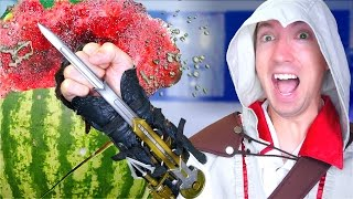 Download 5 Assassin's Creed Weapons in REAL LIFE Video