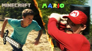 Download Mario vs Minecraft Video