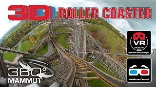 Download 3D 4K 360° Roller Coaster - Mammut Gerstlauer Roller Coaster - VR180 Experience on-ride Video