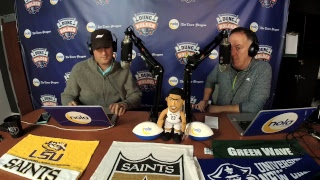 Download Dunc and Holder on Sports 1280 in New Orleans. Dec. 12, 2017. Video