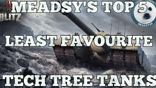 Download Wotb: Meadsy's Top 5 least favourite tech tree tanks Video
